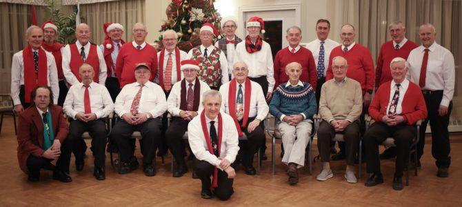 HALIFAX HARMONIZERS                                              2019 CHRISTMAS SINGOUTS